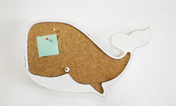 לוח שעם דקורטיבי בצורת לוויתן