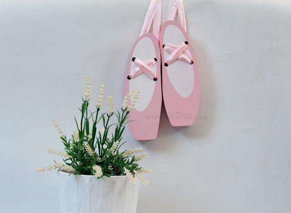 נעלי בלט דקורציה