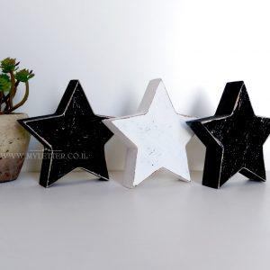 כוכבים מעץ