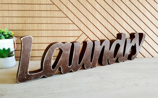 LAUNDRY מעץ