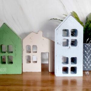 בתים מעוצבים קישוט למדף